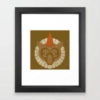 Circusbear Framed Art Print