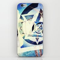 Endless triangles iPhone & iPod Skin