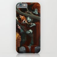 iPhone & iPod Case featuring The Old Fox by Kelly Perry