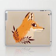 Fox Familiar Laptop & iPad Skin