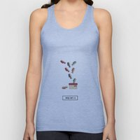 shoes ad Unisex Tank Top