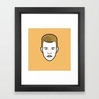 Rebellious Jukebox #6 Framed Art Print