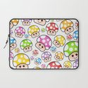 Iddy Diddy Mushrooms  Laptop Sleeve
