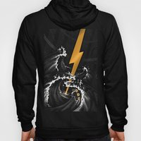 Electric Guitar Storm Hoody