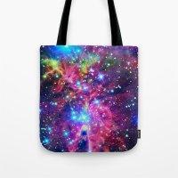 Astral Nebula Tote Bag