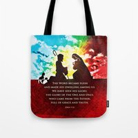We Have Seen His Glory! Tote Bag