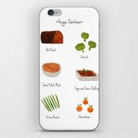 Veggie Christmas! iPhone & iPod Skin