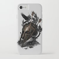 fall iPhone & iPod Cases featuring Legends Fall by nicebleed
