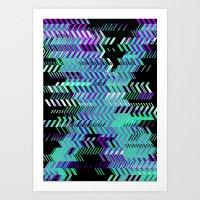 Electro Ex Art Print