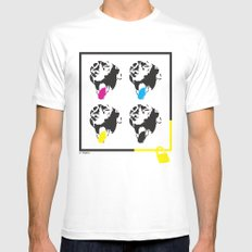 Save Dudley SMALL Mens Fitted Tee White