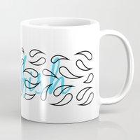Jellyfish Cross Mug