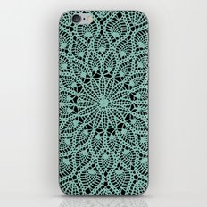 Delicate Teal iPhone & iPod Skin