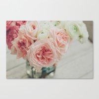 English Roses No. 1 Canvas Print