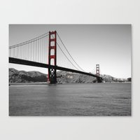 Golden Handcuffs Canvas Print