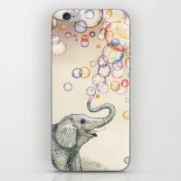 Bubble Dreams iPhone & iPod Skin