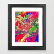 Sugar Shock Framed Art Print