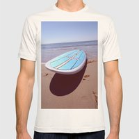 Hang Loose.  Mens Fitted Tee Natural SMALL