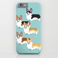 Color Me Corgi iPhone 6 Slim Case