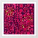 Groovy Dots Art Print