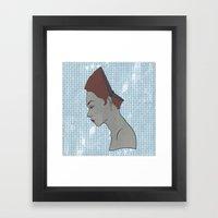 Can't Get No Retrospection (Redhead) Framed Art Print