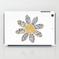 Mosaic Flower 002 iPad Case