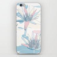 Waterlilies In Pastels iPhone & iPod Skin