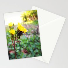 Yellow flowers! Stationery Cards