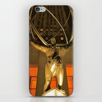 30Rock and Atlas iPhone & iPod Skin