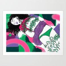 True Affection Art Print