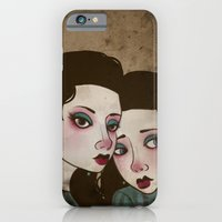 iPhone & iPod Case featuring Twin Princesses by Katie Lawter