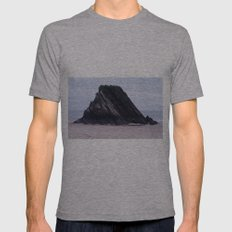 Strata Mens Fitted Tee Athletic Grey SMALL