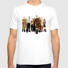 Firefly/serenity crew Mens Fitted Tee SMALL White
