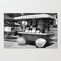 Artist Wagon Canvas Print