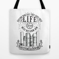How To Read A Book Tote Bag