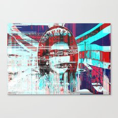 Gᴑᴆ ˢɐᵛᴇ ᴛħə ʠʊɵɵʌ Canvas Print