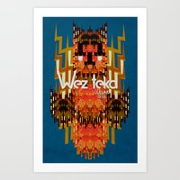 Dodi Owl of the Wezteka Union. Art Print