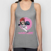 Moon Girl Punch-Out Unisex Tank Top