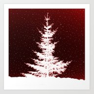 It's Snowing Art Print