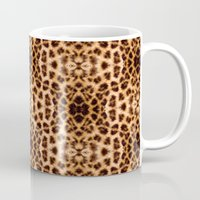 Leopard Print Kaleidosco… Mug