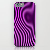 iPhone & iPod Case featuring Stripes in Pink by jacqi