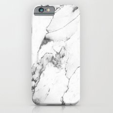 White Marble I Slim Case iPhone 6s
