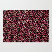 Strawberries & Blackberries Canvas Print