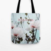 Matilija White Poppies Tote Bag