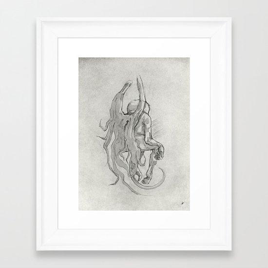 Soul II. Framed Art Print