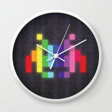 Face The Rainbow Wall Clock