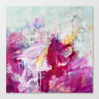 abstract landscape - variation Canvas Print