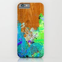 Watercolour Arbutus Wood iPhone 6 Slim Case