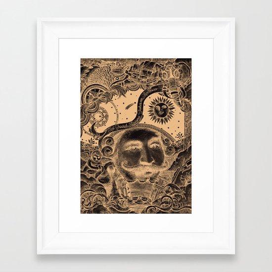 Baron von Munchausen Framed Art Print