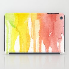 Rainbow Watercolor iPad Case