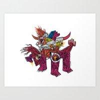 Kosmotoro - Print Availa… Art Print